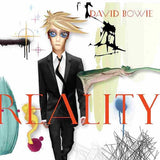 BOWIE, DAVID Reality [2020] white & blue colored audiophile pressing SEALED NEW
