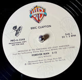 "CLAPTON, ERIC ""Forever Man"" [1985] promo  12"" single USED"
