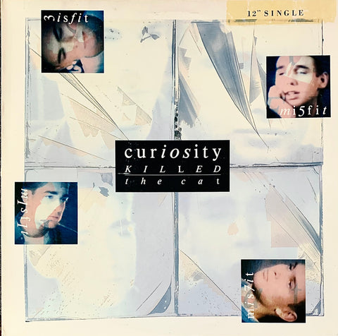 "CURIOSITY KILLED THE CAT Misfit (4 mixes) [1987] 12""single Very Good cond. USED"