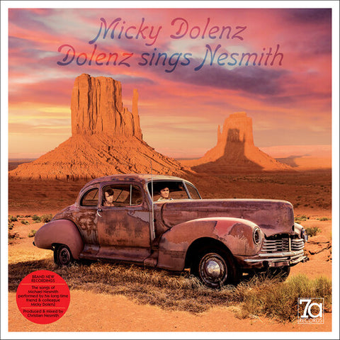 DOLENZ, MICKY (street date: 5/21) Dolenz Sings Nesmith [2021] 180g Turquoise Colored Viny NEW