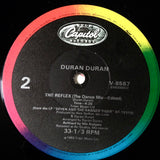 "DURAN DURAN ""The Reflex (the dance mix)"" [1984] 12""single VG+ numbered promo (USED)"