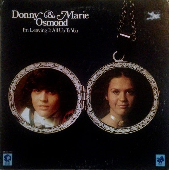 OSMOND, DONNY & MARIE I'm Leaving it all Up To You [1974] NM- USED