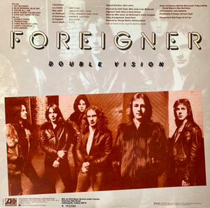 FOREIGNER Double Vision [1978] RCA Music Serv. Excellent cond. USED