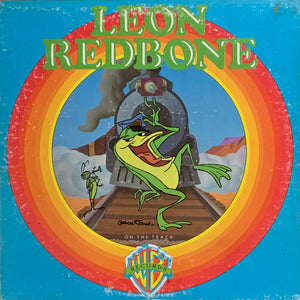 REDBONE, LEON On the Track [1975] vinyl is clean, VG++ USED