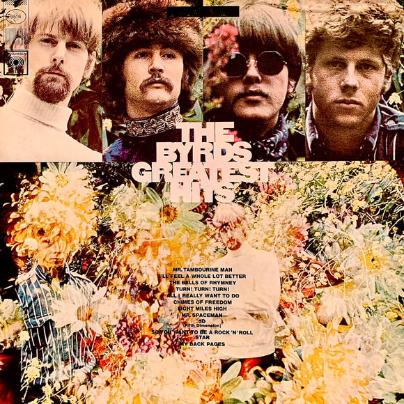 BYRDS The Byrds Greatest Hits [1970] Very Good cond. USED