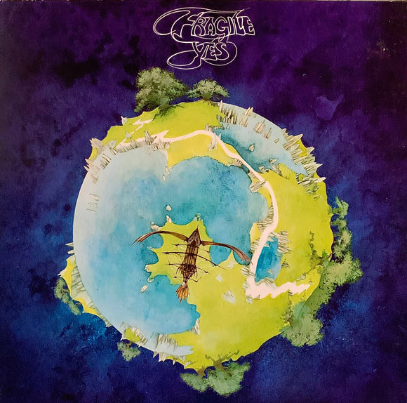YES Fragile [1972] late 70's reissue USED