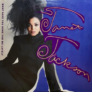 "JACKSON, JANET ""What Have You Done For Me Lately"" 12"" maxi single [1986] 3 mixes USED"