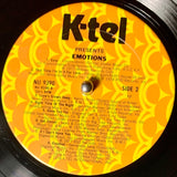 K-TEL'S EMOTIONS Various Artists [1978] Very Good cond. USED