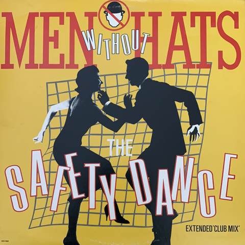 "MEN WITHOUT HATS ""The Safety Dance""/""Antarctica"" [1983] 12"" single USED"