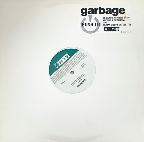 "GARBAGE ""Push It""- 4 mixes [1998] 12"" single USED"