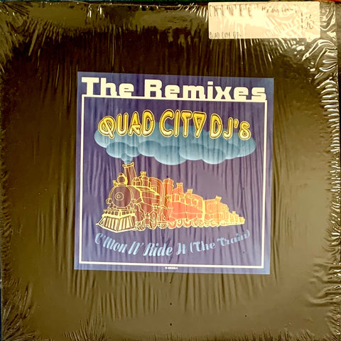 "QUAD CITY DJ'S ""C'Mon 'N Ride It (the train)"" - Remixes [1996] 12"" single USED"
