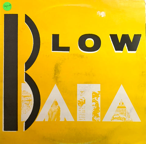 "DATA ""Blow"" / ""Blow Back"" [1984] 12"" single, import USED"