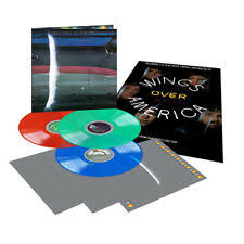 MCCARTNEY, PAUL Wings Over America [2019] 3LP set *Indie Exclusive* Blue, Green & Red LPs SEALED, NEW (special order)