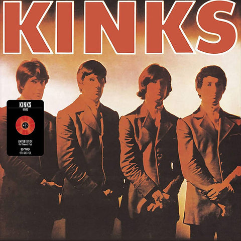 KINKS (1/15) Kinks [2021] Ltd Ed RED vinyl MONO, SEALED, NEW