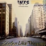 "INXS ""Listen Like Thieves"" (3 mixes)/""Begotten"" [1986] 12"" single. VG- USED"