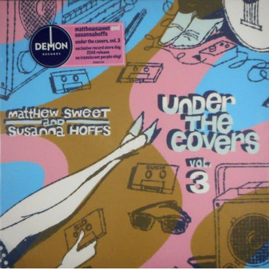 SWEET, MATTHEW & SUSANNA HOFFS Under The Covers vol. 3 [2016] RSD translucent PURPLE 2LP UNPLAYED, NEW