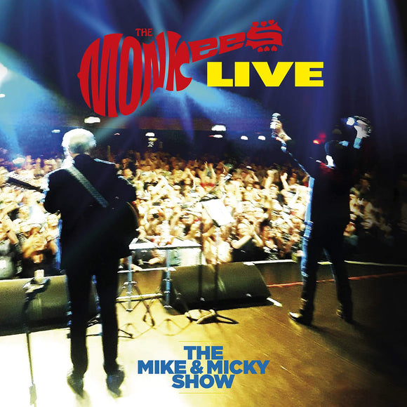 MONKEES (7/10) The Mike And Micky Show Live [2020] 2LP recorded on 2019 tour SEALED, NEW