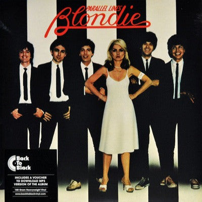 BLONDIE Parallel Lines [2016] 180g reissue w download card SEALED, NEW