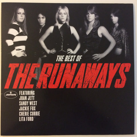"RUNAWAYS Best Of [2019] ""Cherry Bomb"" red vinyl! Joan Jett SEALED, NEW"
