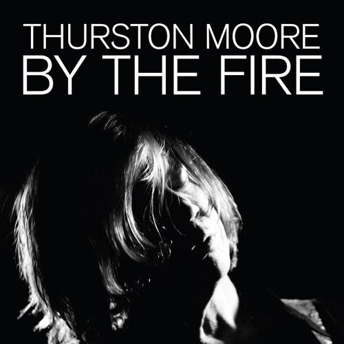 MOORE, THURSTON (9/25) By The Fire [2020] 2LP on Transparent Orange vinyl SEALED, NEW