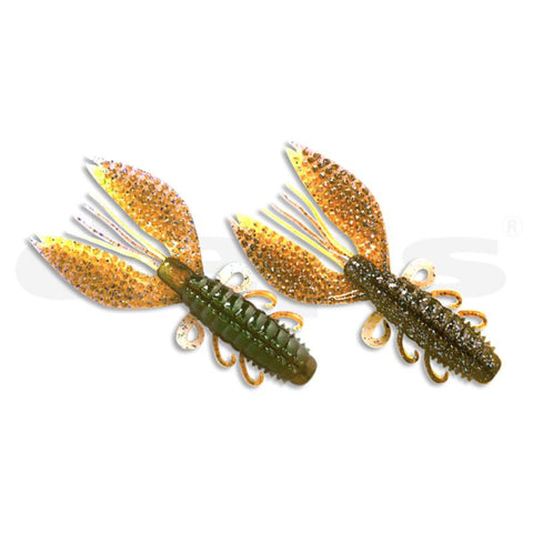 "Deps Spiny Craw 3.5"" Creature Bait 8pk - Carolina Fishing Tackle LLC"