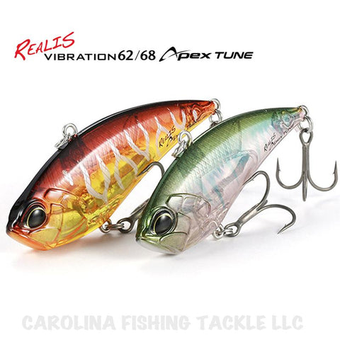 Realis Vibration APEX TUNE Lipless Crankbait - Carolina Fishing Tackle LLC