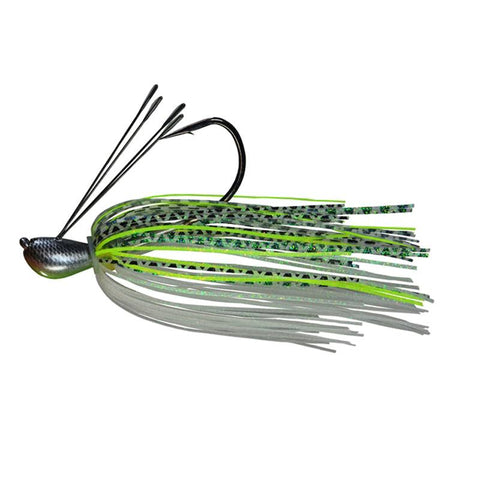 Picasso Dock Rocket Jig Chartreuse Gizzard Shad