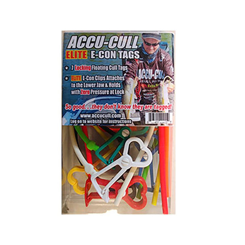ACCU-CULL Elite E-CON Tags - Carolina Fishing Tackle LLC