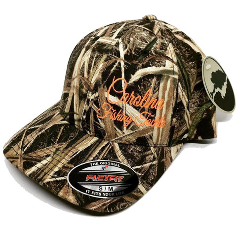 Carolina Fishing Tackle Camo FLEXFIT Hats - Carolina Fishing Tackle LLC