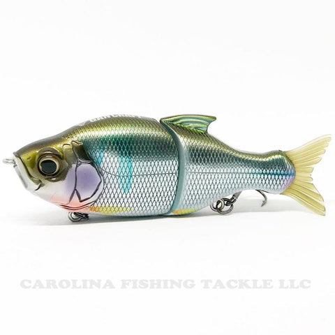 "Gan Craft S-Song 115 Swimbait 4.5"" 1 oz - Carolina Fishing Tackle LLC"
