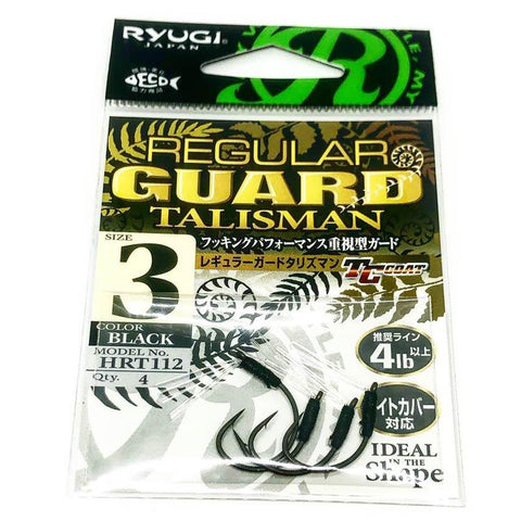 RYUGI Regular Guard Talisman (TC Coat) 4pk