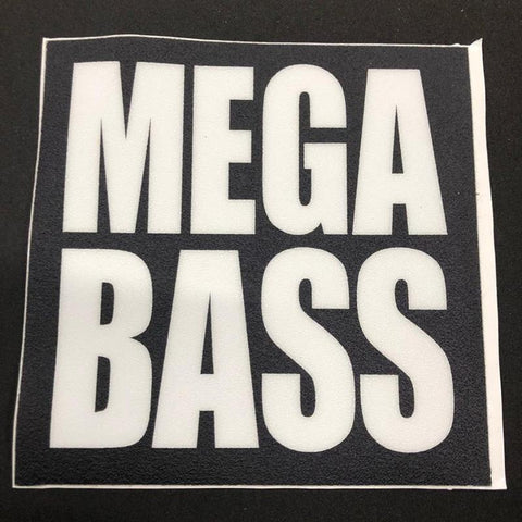 Megabass Livewell Carpet Decals - Carolina Fishing Tackle LLC