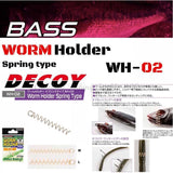 Decoy Worm Holder WH-02 Spring Type-Wacky Rig Parts-Decoy-Carolina Fishing Tackle LLC