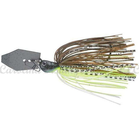 Evergreen Jack Hammer Chatterbait-Bladed Jig-Ever Green International-B-Hite Delight-3/8 oz-Carolina Fishing Tackle LLC