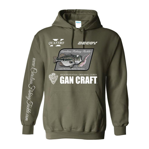 Carolina Fishing Tackle Swimbait & Gan Craft Logo Hoodie