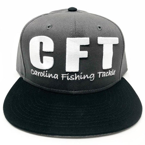 CFT Flat Bill Hat - Carolina Fishing Tackle LLC