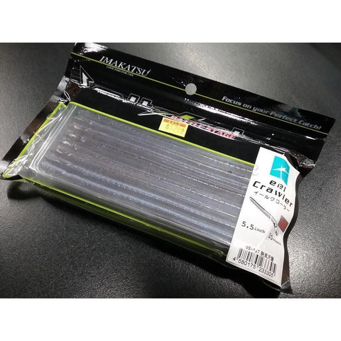 "Imakatsu Eel Crawler 5.5"" 10pk Eel Worm - Carolina Fishing Tackle LLC"