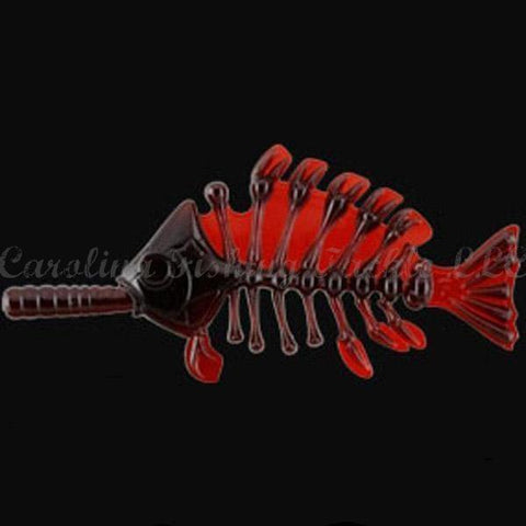 Imakatsu Gill Bone (Flat Tail)-Specialty Soft Baits-Imakatsu-#S-05 Liver-4 in-Carolina Fishing Tackle LLC