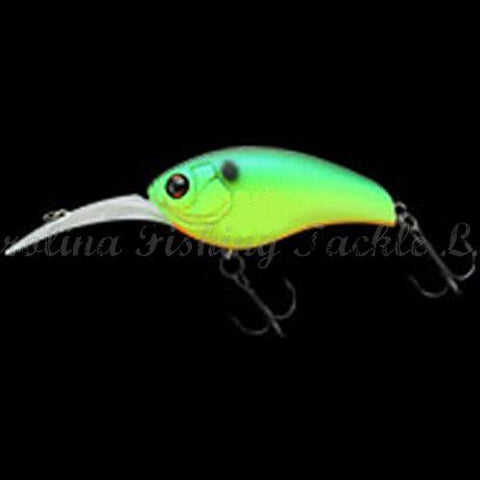 Imakatsu IK-180 Project Series Crankbait (Silent)-Mid Runner-Imakatsu-#301 Green Back Chartreuse-Carolina Fishing Tackle LLC