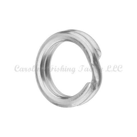Kahara Split Rings (Color Nickel) 10pk - Carolina Fishing Tackle LLC