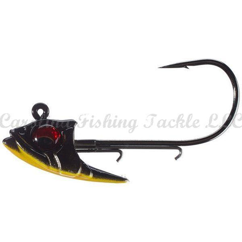 Megabass Body Balance-Swimbait Jig Head-Megabass-Deadly Black Shad-3/8 oz-Carolina Fishing Tackle LLC