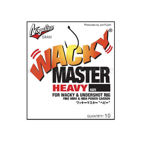 Nogales Gran Wacky Master Heavy Hook 10pk - Carolina Fishing Tackle LLC