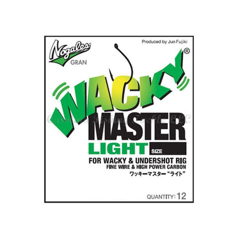 Nogales Gran Wacky Master Light Hook 12pk - Carolina Fishing Tackle LLC