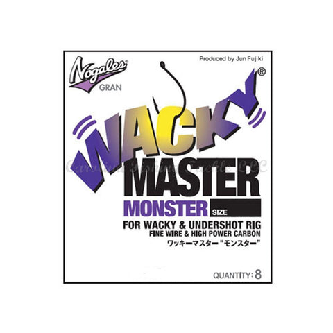 Nogales Gran Wacky Master Monster Hook 8pk-Wacky Hook-Nogales Gran-#2/0-Carolina Fishing Tackle LLC
