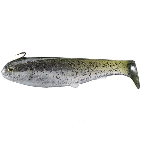 "Optimum Baits Butch Brown 9"" Thumper Tail Swimbait - Carolina Fishing Tackle LLC"