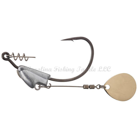 Owner Flashy Swimmer Gold Colorado Blade 2pk-Specialty Hook-Owner-#1/0-1/8 oz-Carolina Fishing Tackle LLC