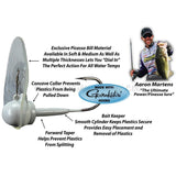 Picasso Aaron Martens Suijin Head (Pearl White) - Carolina Fishing Tackle LLC