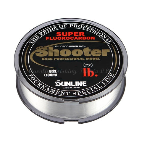 Sunline Shooter Super Fluorocarbon-Fluorocarbon-Sunline-12 lb-Carolina Fishing Tackle LLC