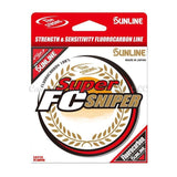 Sunline Super FC Sniper Natural Clear-Fluorocarbon-Sunline-6 lb-200-Carolina Fishing Tackle LLC