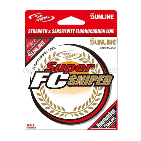 Sunline Super FC Sniper Natural Clear - Carolina Fishing Tackle LLC